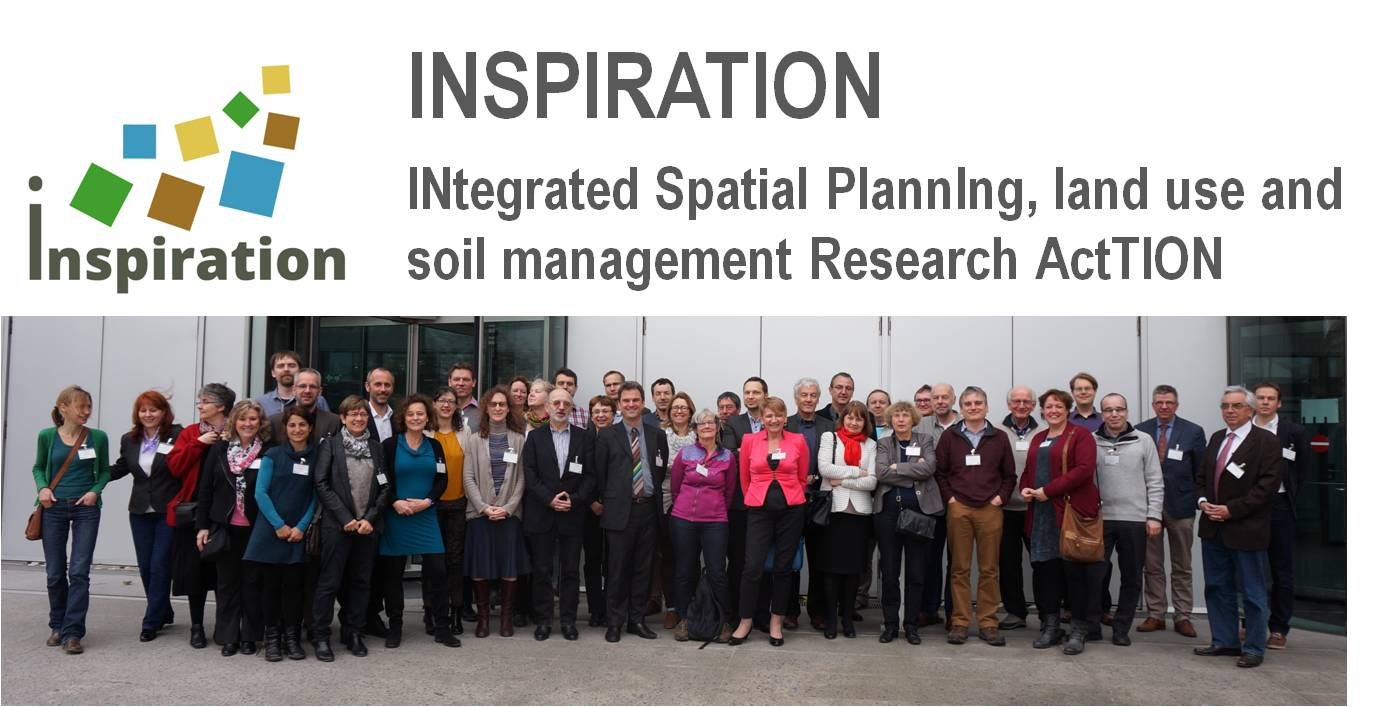 INSPIRATION Logo and Team at Kick-off Meeting in Berlin 1 Apr. 2015