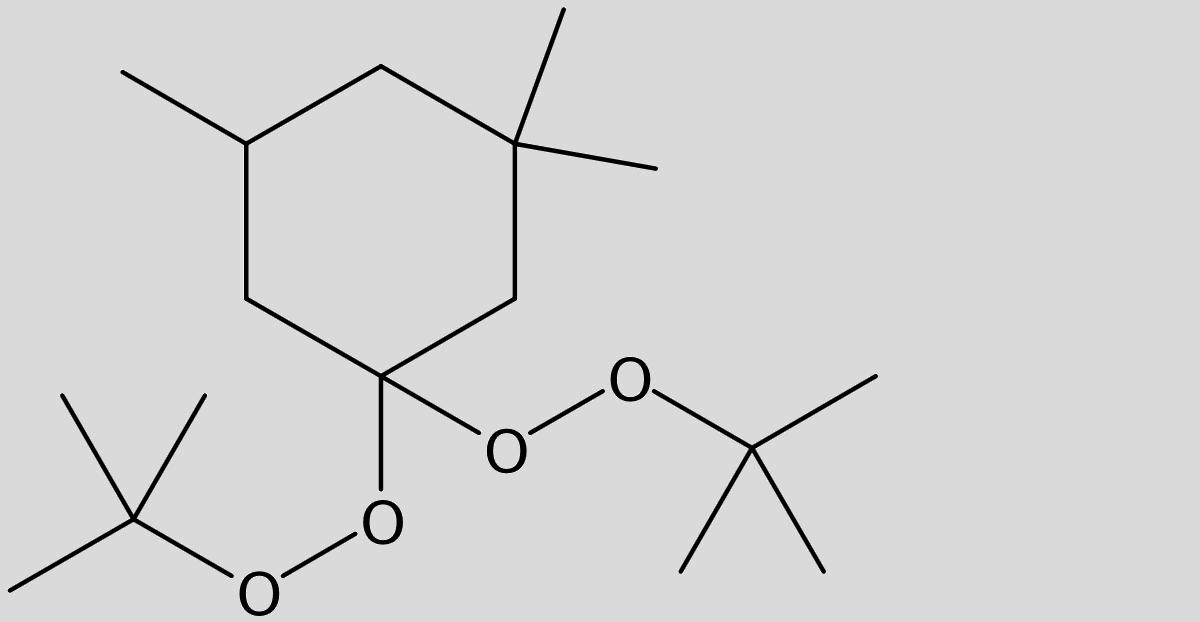 Strukturformel von Trigonox 29