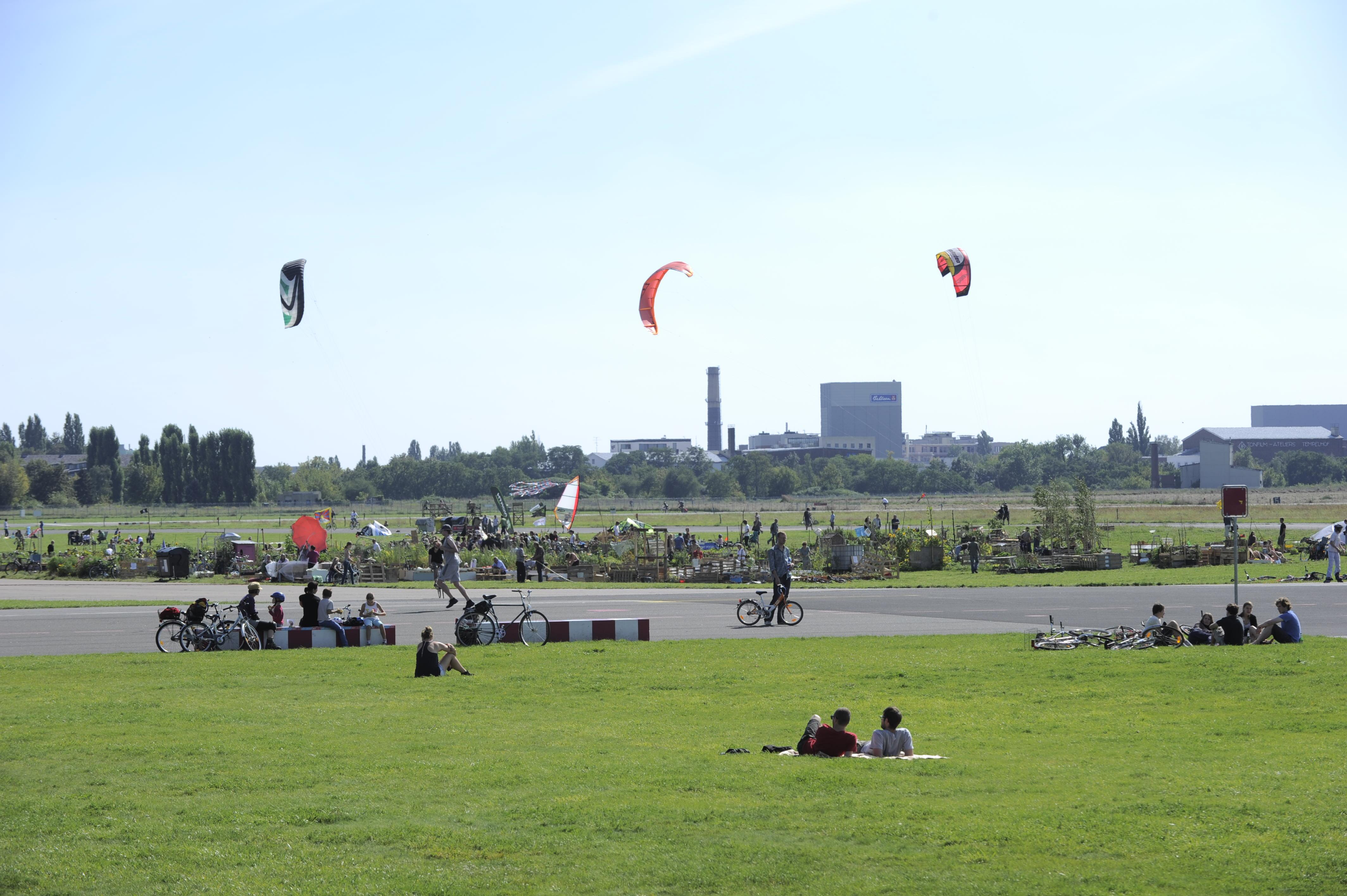 Stadtquartiere brauchen Flächen für Sport, Spiel, Freizeit und Erholung