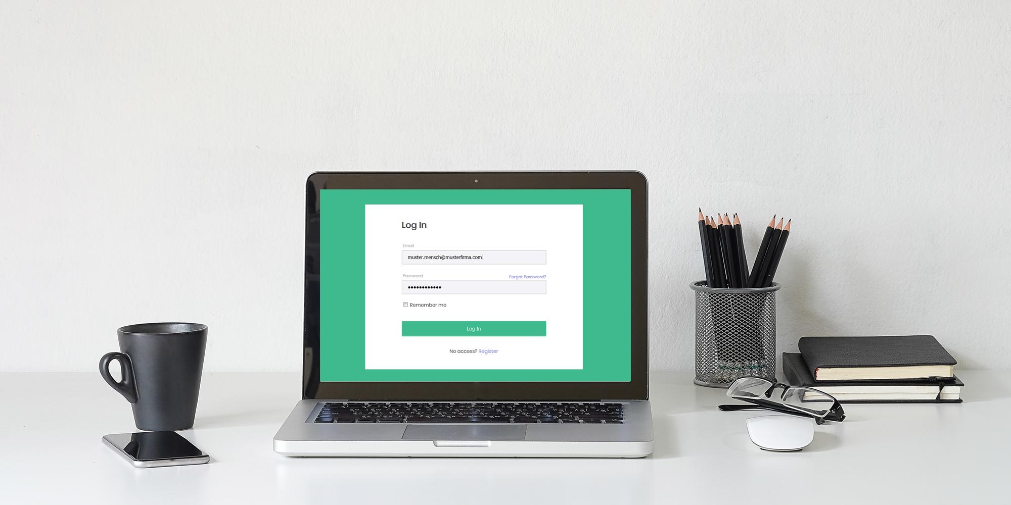 AskREACH Supplier Frontend - Eingabemaske für Unternehmen