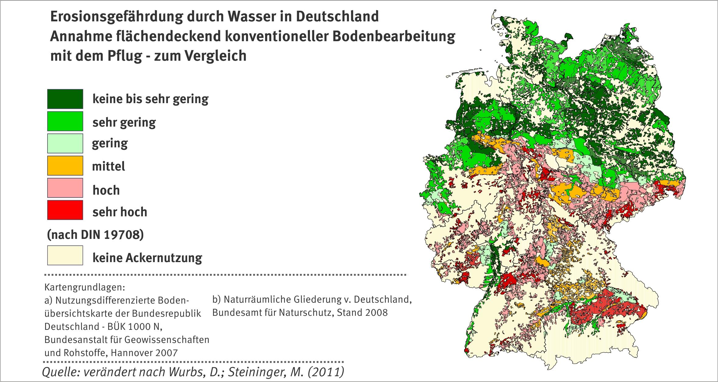 Erosion umweltbundesamt for Boden deutschland