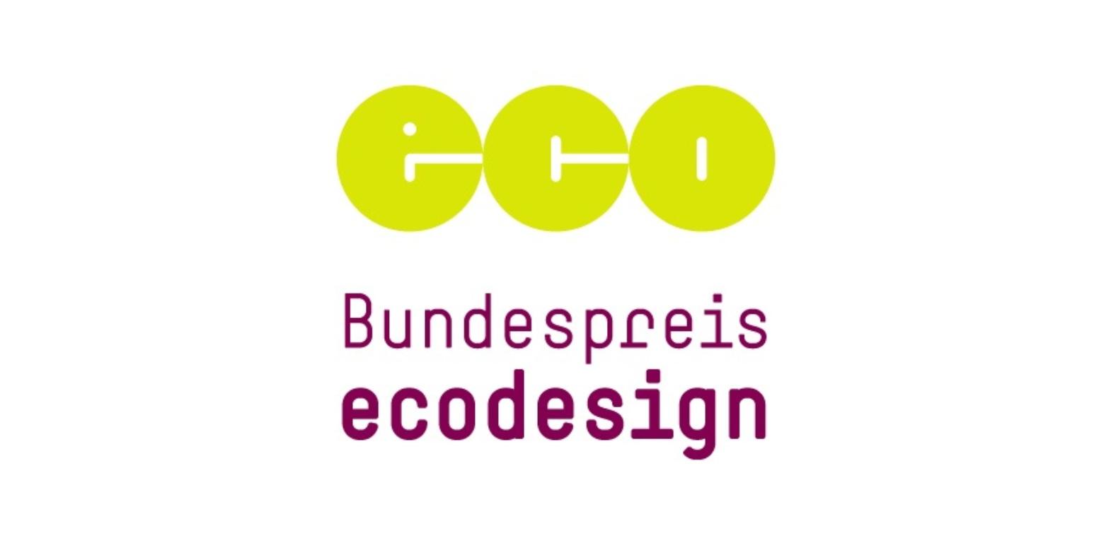 Logo: eco Bundespreis ecodesign
