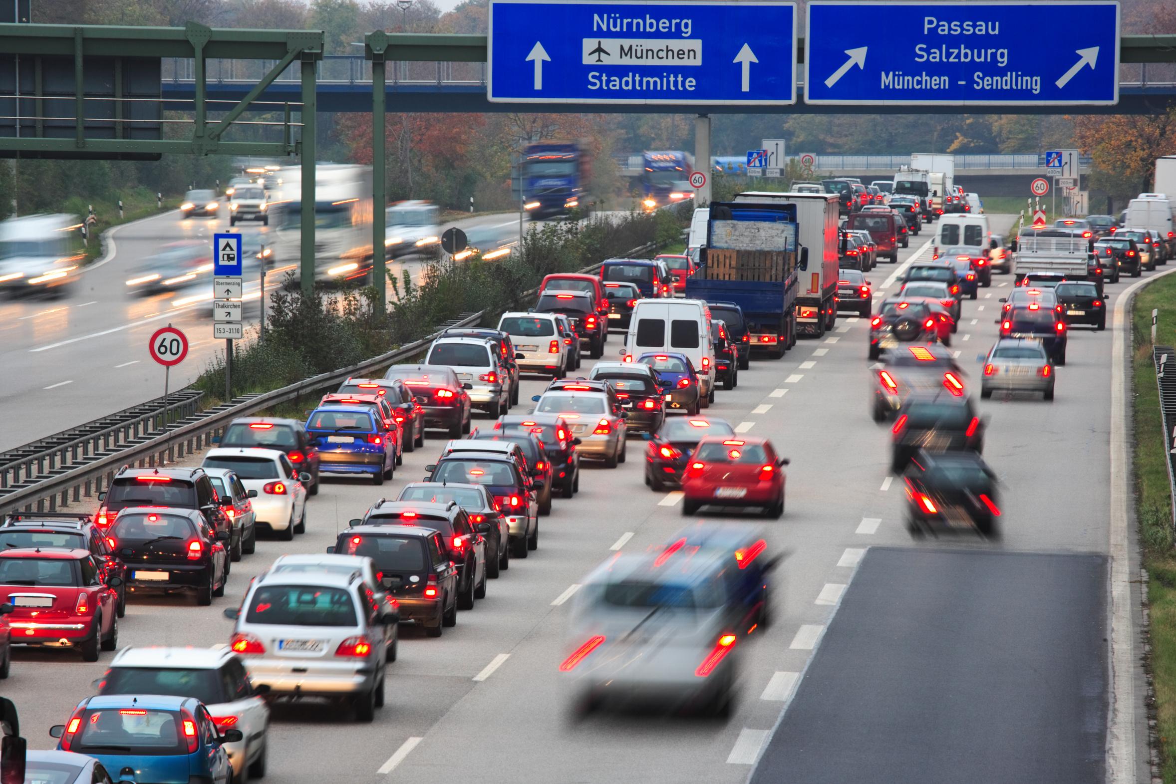 Stau Und Verkehr