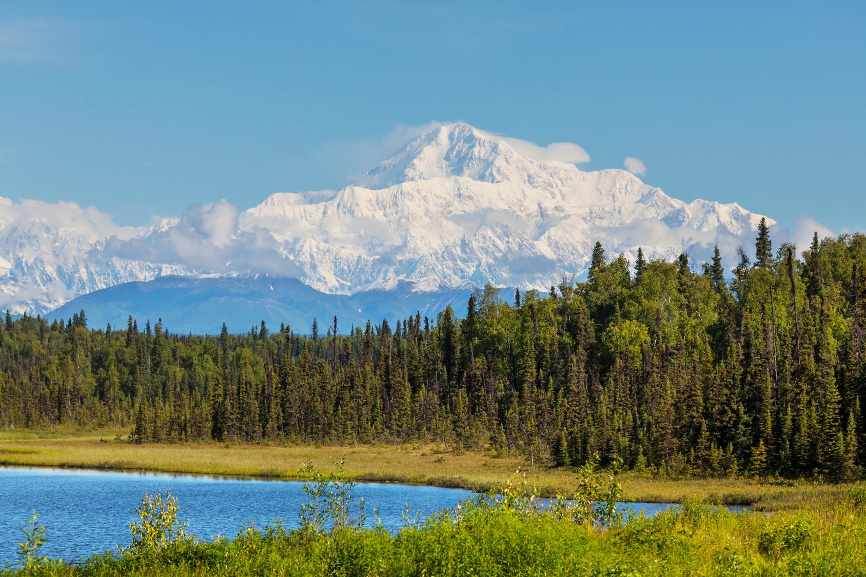 Denali (ehem. Mount McKinley) – höchster Berg Nordamerikas