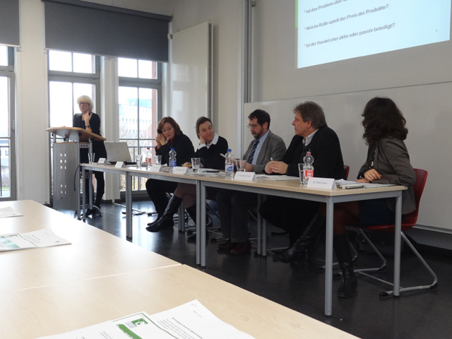 "Event ""Preventing food waste – But how"": Panel discussion"