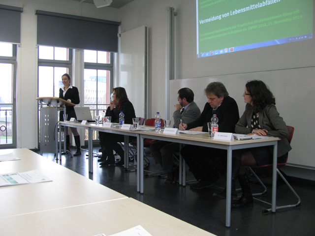 "Event ""Preventing food waste – But how"": Discussion"