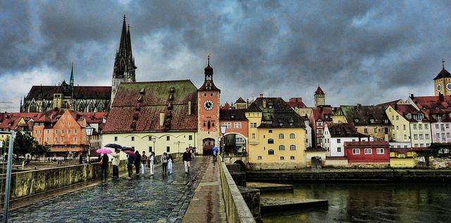 Das Umwelt- und Rechtsamt der bayerischen Stadt ließ durch das Büro für Umweltmeteorologie ein Stadtklimagutachten erstellen.