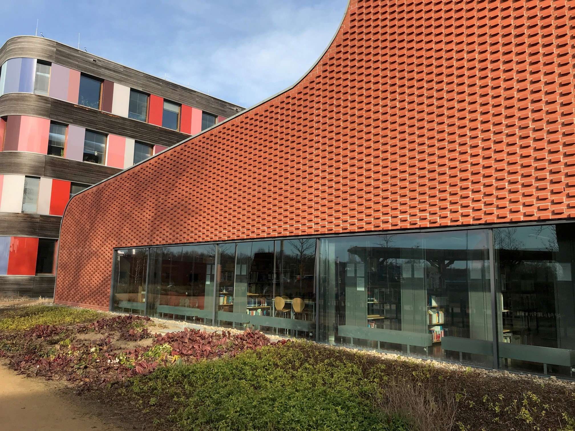 Die Bibliothek des UBA von außen