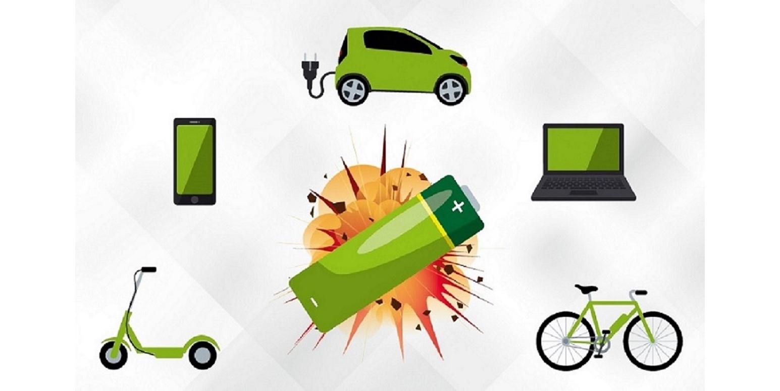 Lithium-Batterien sind brennbar. Der sichere Umgang mit ihnen ist deshalb besonders wichtig!