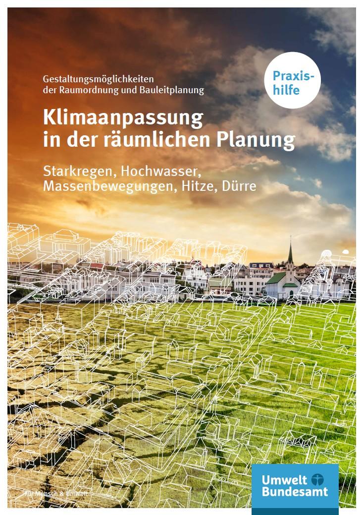 Bildschirmfoto der Praxishilfe Klimaanpassung in der räumlichen Planung
