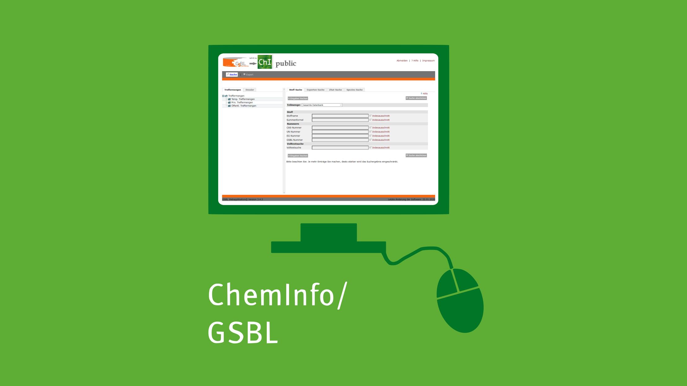 Mit Klick aufs Bild gelangen Sie zur verlinkten ChemInfo-Datenbank-Website.
