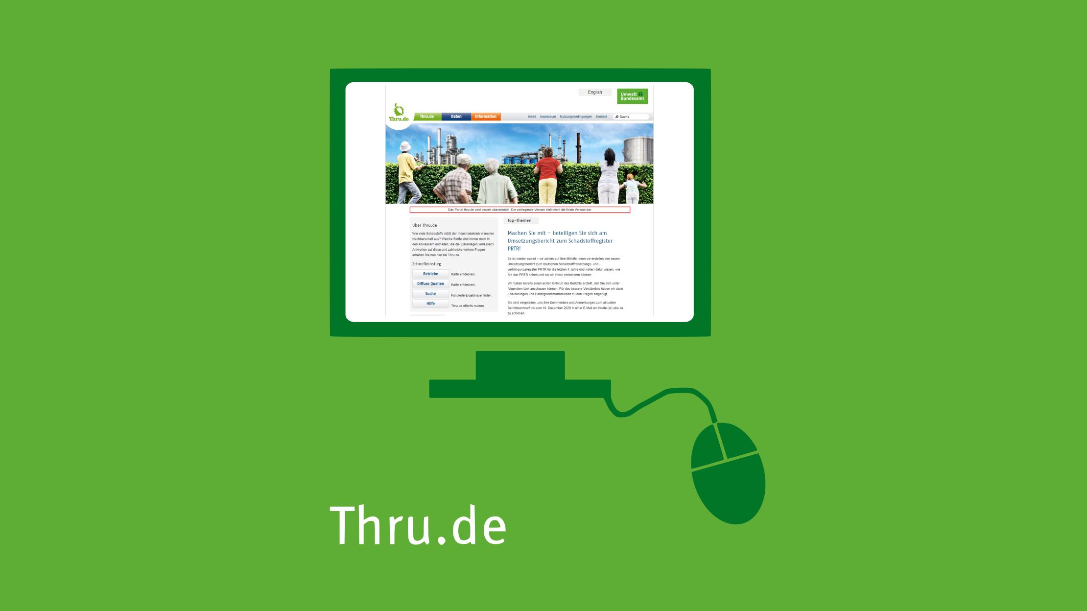 Ein Klick aufs Bild führt Sie zur verlinkten Thru.de-Website.