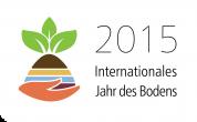 abstraktes Logo zum Jahr des Bodens