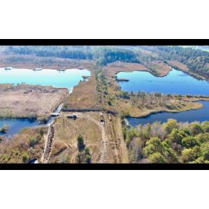 Luftbild vom Moorerlebnispfad
