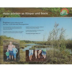 """Flyer """"Moor erleben an Körper und Seele"""""""