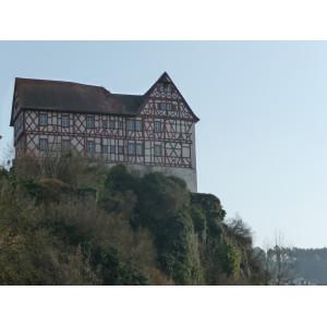 Blick auf das Schloss Homburg