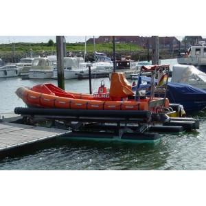 Bootshebeanlage für Motorboote, Norderney