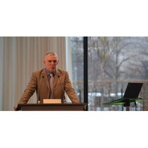 UBA-Präsident Jochen Flasbarth am Rednerpult