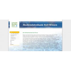 Startseite der Webseite von H2O-Wissen
