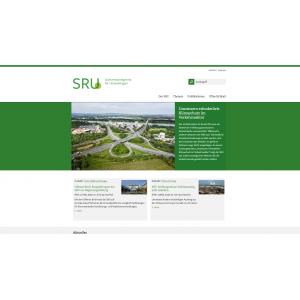 Startseite der Website des Sachverständigentrats für Umweltfragen