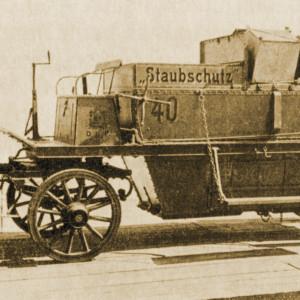Abfuhrwagen mit Ladung