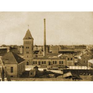Müllverbrennungsanlage im Stadtbild von Fürth