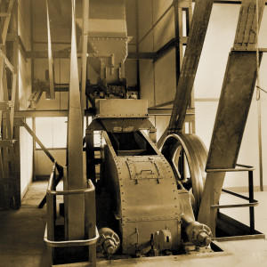 Mischmaschine für die gemahlene Schlacke und Bindemittel