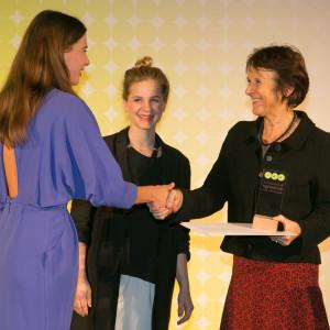 Bundespreis Ecodesign 2014 Maria Krautzberger übergab an Essi Johanna Glomb und Rasa Weber