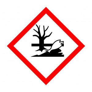 symbolisierter toter Fisch im Wasser