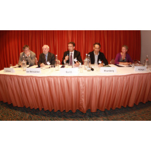 European Resources Forum 2012:Mr. Lehmann, Mr. von Weizsäcker, Mr. Barth, Mr. Romberg, Mrs. McIntyre