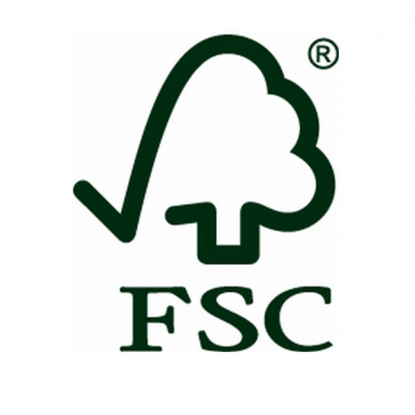 FSC-Label für Holz- und Holzprodukte aus nachhaltiger Waldwirtschaft