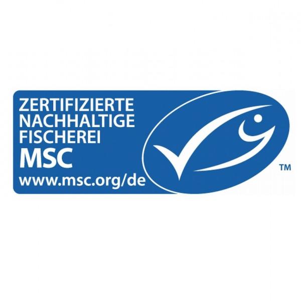 MSC-Label für nachhaltigen Fischfang