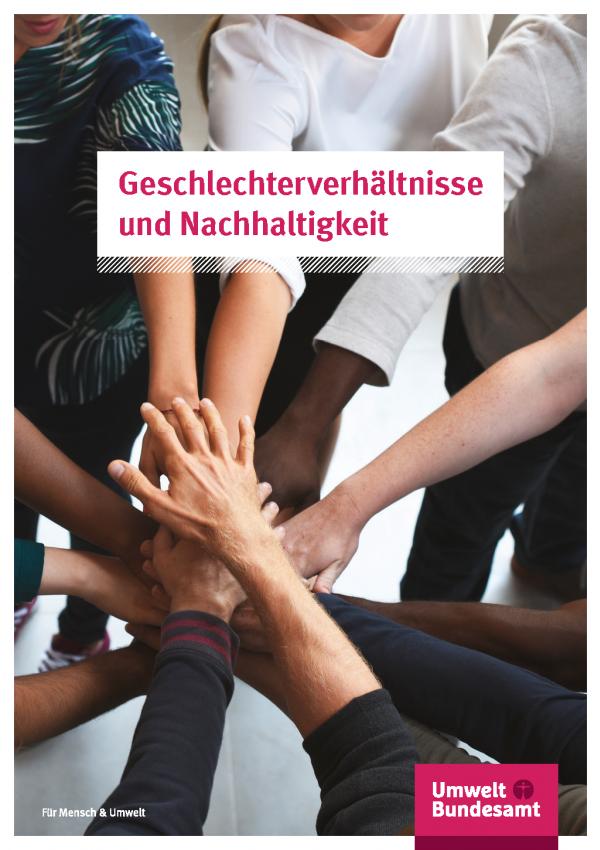 Cover der Publikation Geschlechterverhältnisse und Nachhaltigkeit
