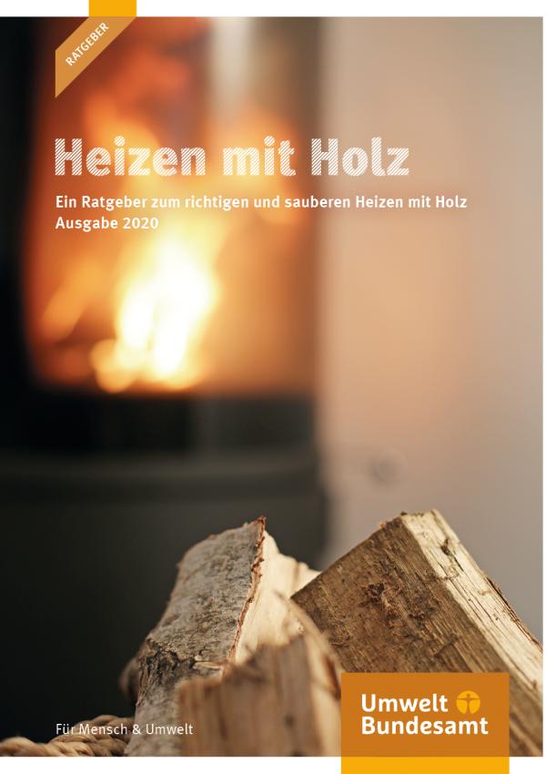 Cover Heizen mit Holz
