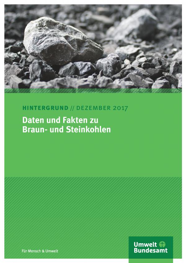 Cover Daten und Fakten zu Braun- und Steinkohlen