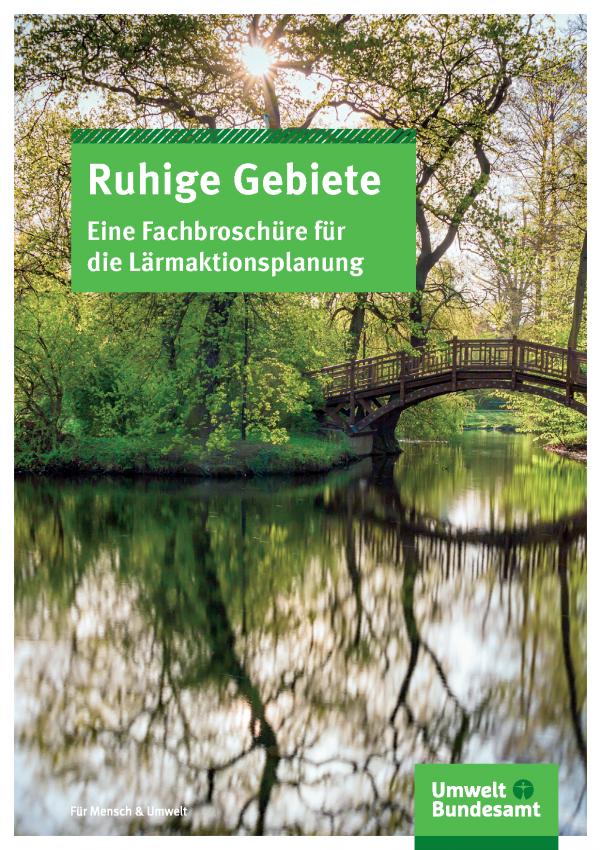 Cover der Fachbroschüre Ruhige Gebiete