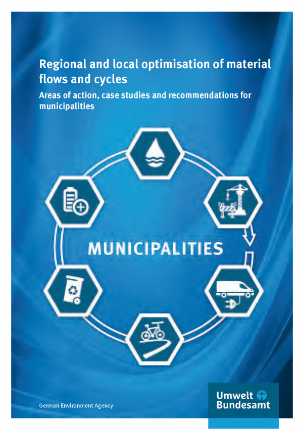 Cover of broschure Regional and local optimisation of material flows and cycles