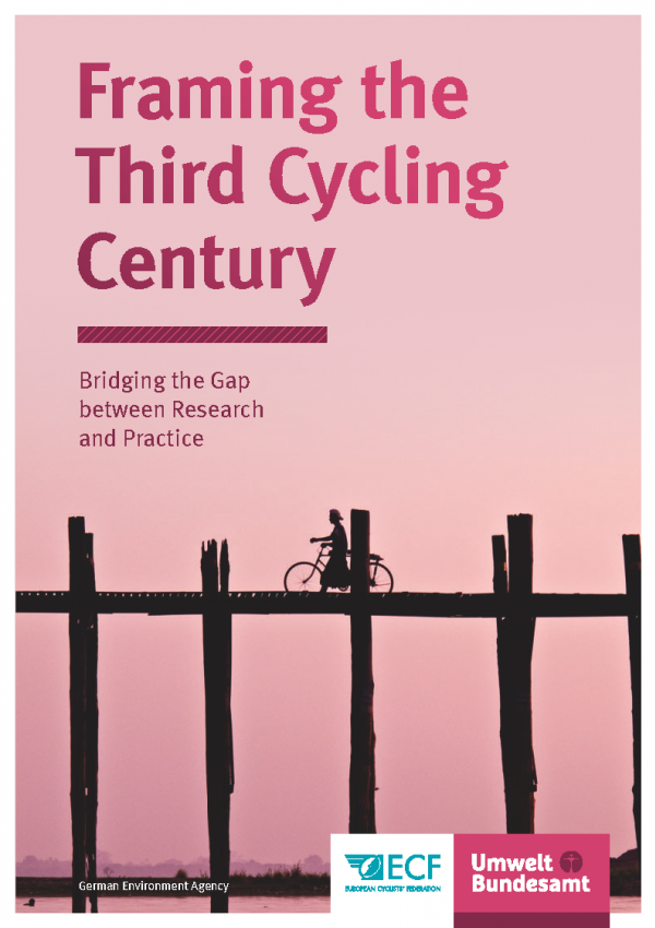 Cover of publication Framing the Third Cycling Century