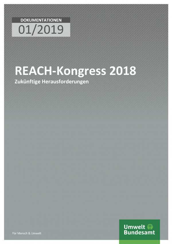 Cover der Dokumentation 01/2019 REACH-Kongress 2018