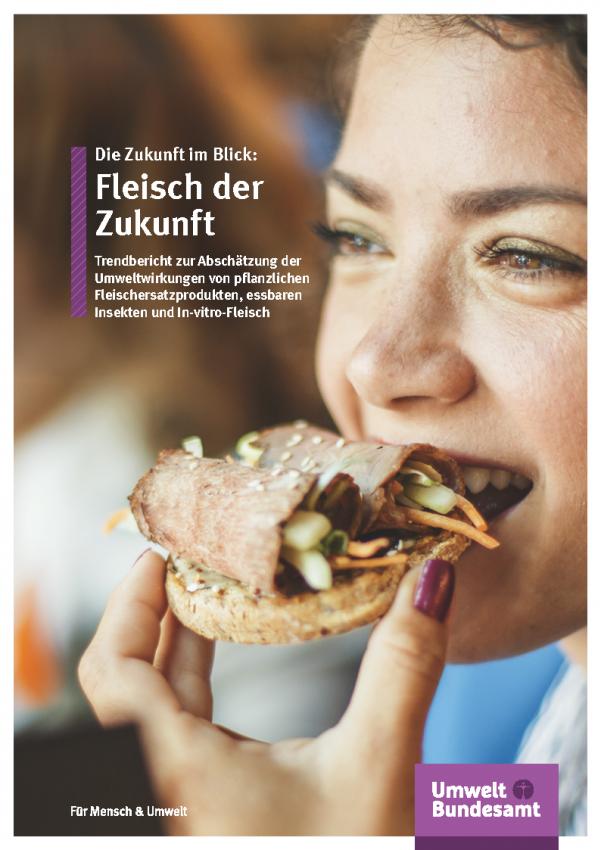 Cover der Fachbroschüre Fleisch der Zukunft
