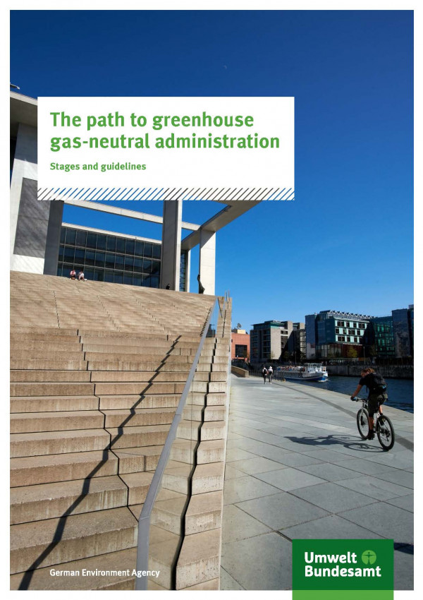 Cover The path to greenhouse gas-neutral administration