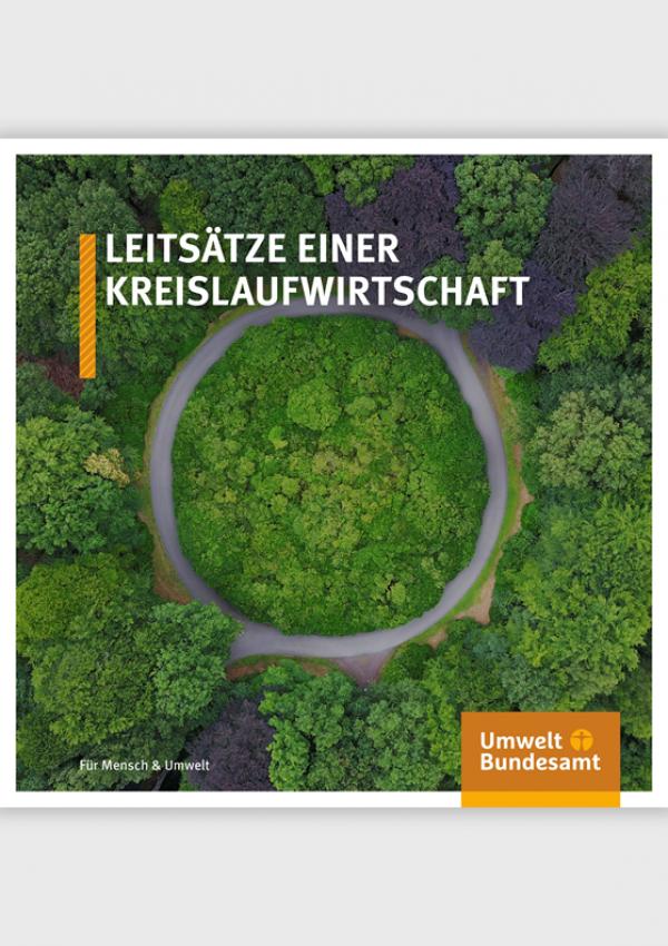 Cover des Leitfadens einer Kreislaufwirtschaft