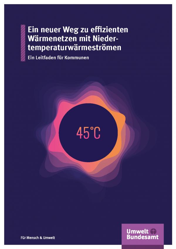 Cover der Fachbroschüre Ein neuer Weg zu effizienten Wärmenetzen mit Niedertemperaturwärmeströmen