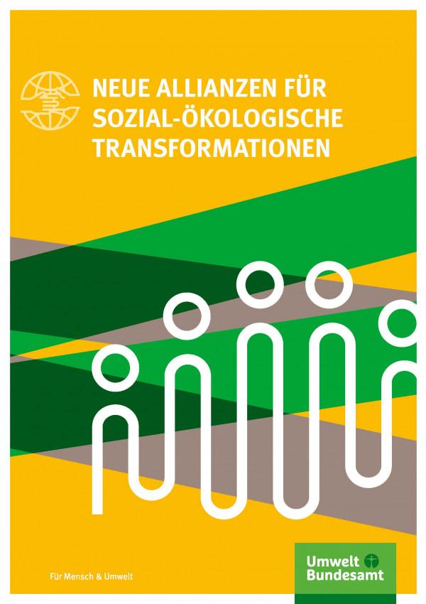 Cover der Fachbroschüre Neue Allianzen für sozial-ökologische Transformationen