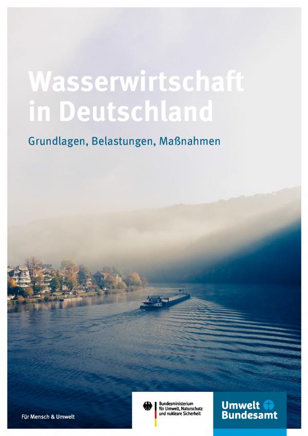Cover der Fachbroschüre Wasserwirtschaft in Deutschland