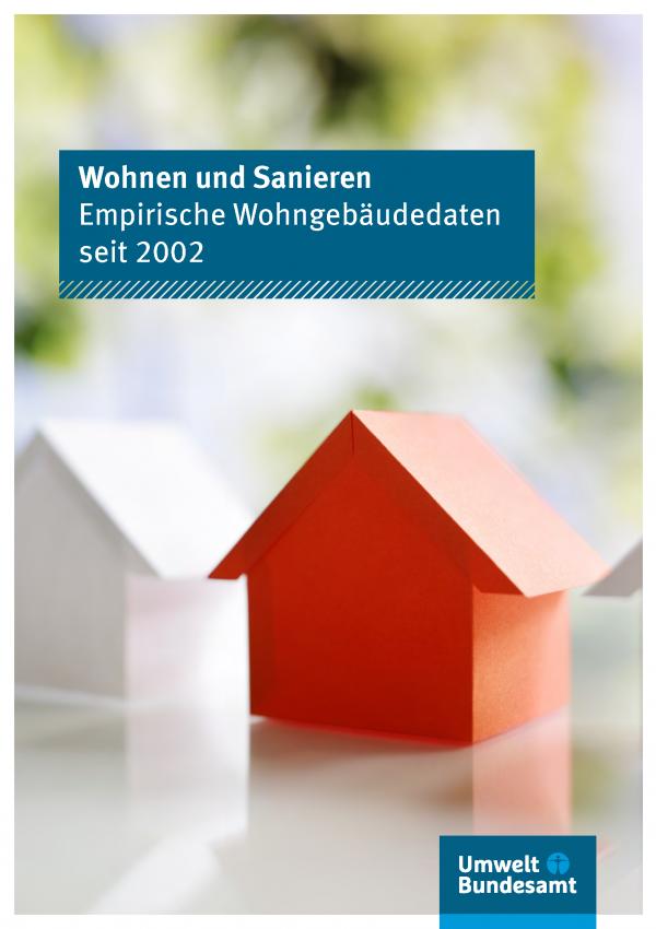 Cover der Fachbroschüre Wohnen und Sanieren
