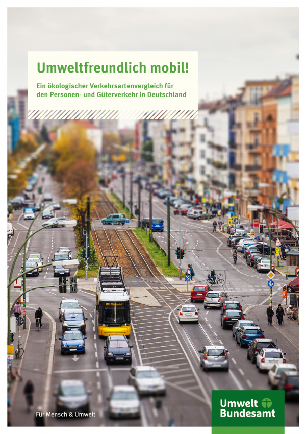 Cover der Fachbroschüre Umweltfreundlich mobil!