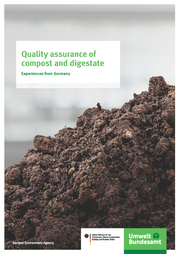 Cover of publication Quality assurance of compost and digestate
