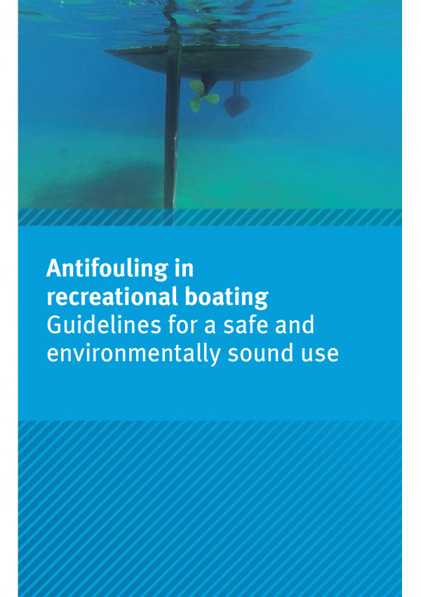 Cover of flyer Antifouling in recreational boating