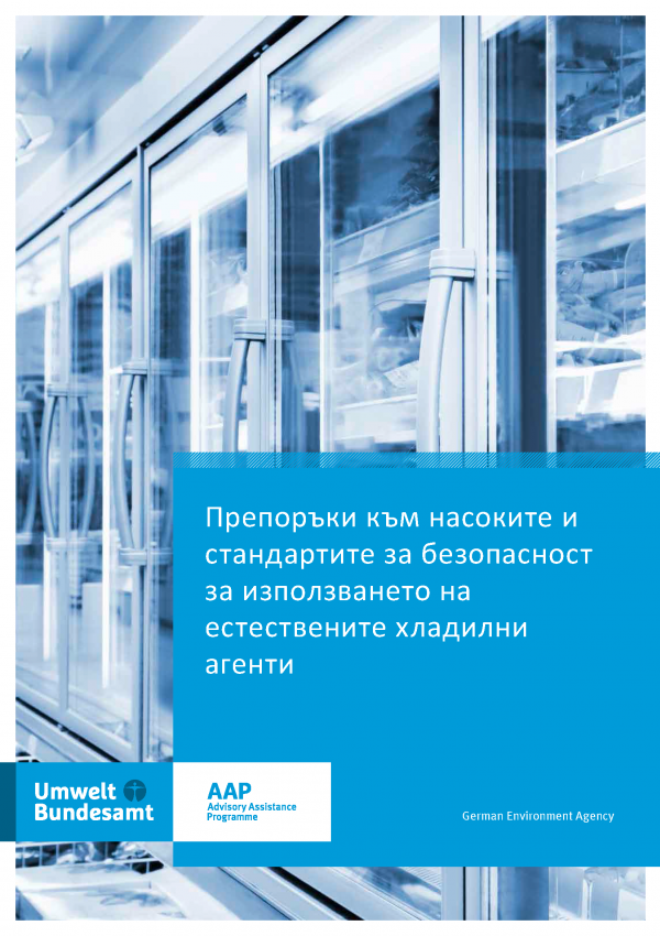 Recommendations to safety guidelines and standards for the use of natural refrigerants